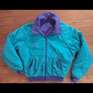 Mens VINTAGE Reversible COLUMBIA SKI JACKET COAT M